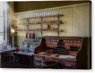 Scientist Office Canvas Print by Susan Candelario