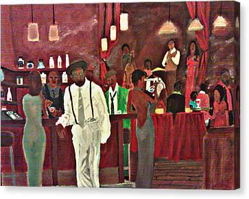 Scott's Bar Canvas Print by George Harrison