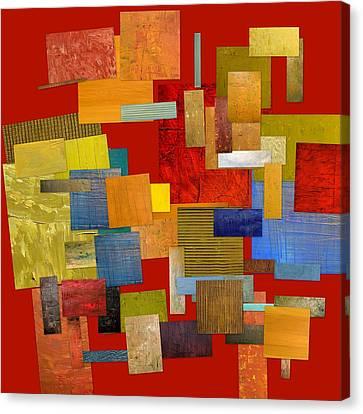 Scrambled Eggs L Canvas Print by Michelle Calkins