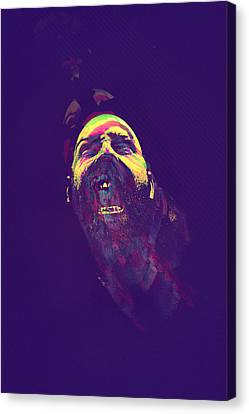 Scream Canvas Print by Paul Large