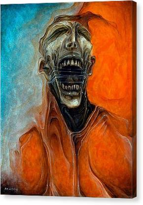 Scream Till No One Hears You Canvas Print by Robert Anderson