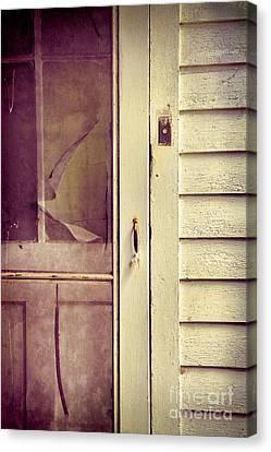 Screen Door Canvas Print by Jill Battaglia