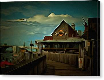 Sculley's Canvas Print by L Wright