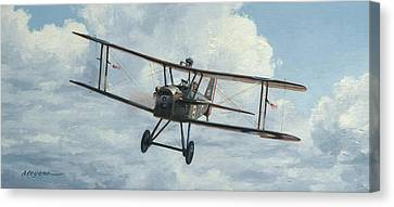 Se5a 1918 Canvas Print by Wade Meyers