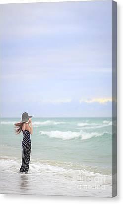 Sea Breeze Canvas Print by Evelina Kremsdorf