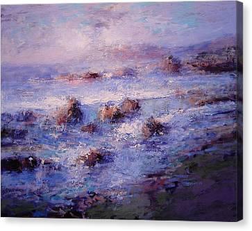 Sea Breeze Canvas Print by R W Goetting