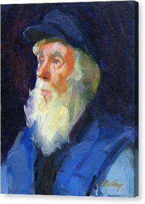 Sea Captain 2 Canvas Print by Diane McClary