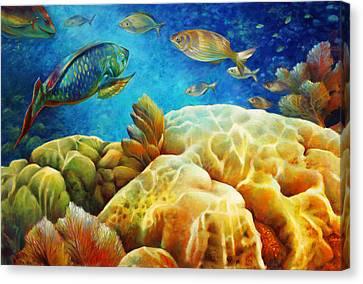 Sea Escape I -27x40 Canvas Print by Nancy Tilles
