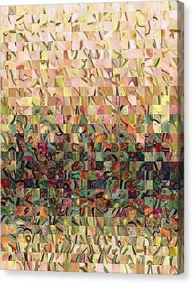 Sea Foam Serenade Canvas Print by Jennifer Lommers