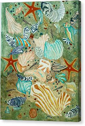 Sea Life Canvas Print by David Raderstorf
