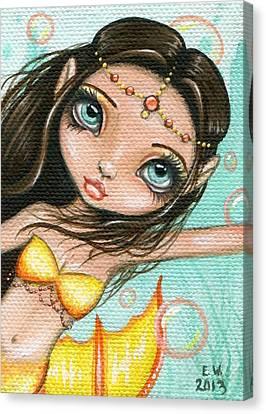 Sea Princess Marisol Canvas Print by Elaina  Wagner