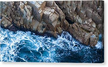 Sea Rocks Canvas Print by Frank Tschakert