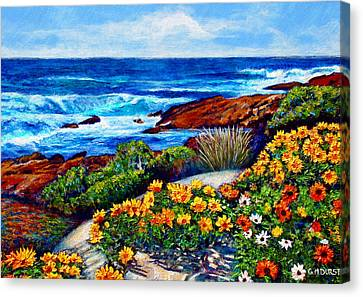 Sea Side Spring Canvas Print by Michael Durst