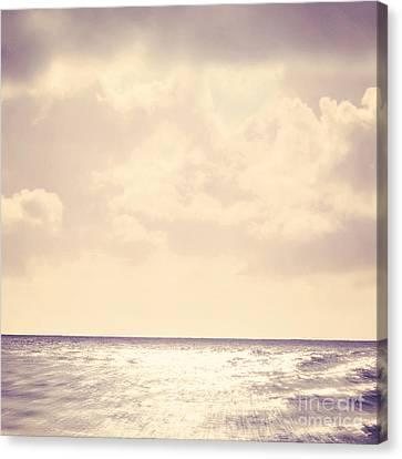 Sea Sparkle Canvas Print by Lyn Randle