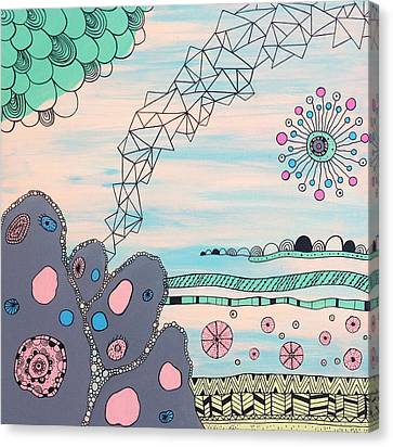 Seabed Spirit Canvas Print by Susan Claire
