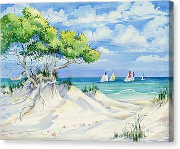 Seagrove Beach Canvas Print by Paul Brent