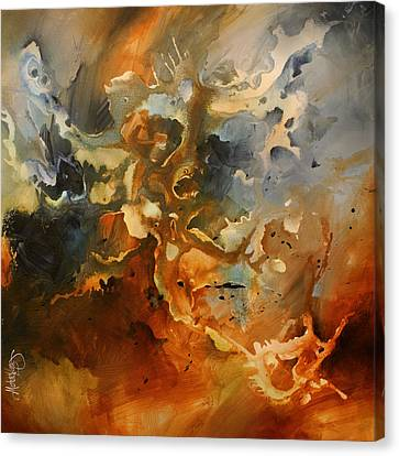 'searching For Chaos' Canvas Print by Michael Lang