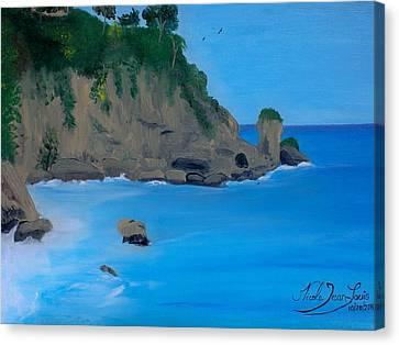 Seascape 2 Canvas Print by Nicole Jean-Louis