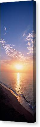 Seascape The Algarve Portugal Canvas Print by Panoramic Images