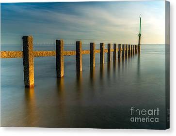 Seascape Wales Canvas Print by Adrian Evans