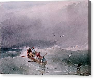 Seascape  Canvas Print by Richard Parkes Bonington