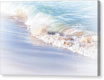Seashore Pastel Canvas Print by Kaye Menner