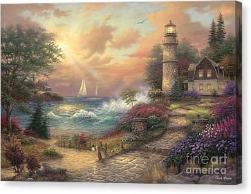 Seaside Dream Canvas Print by Chuck Pinson