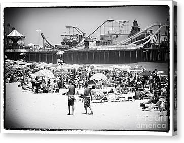 Seaside Heights Canvas Print by John Rizzuto