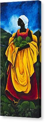 Season Avocado Canvas Print by Patricia Brintle