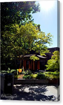Seattle Japanese Garden Canvas Print by Guinapora Graphics