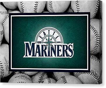 Seattle Mariners Canvas Print by Joe Hamilton