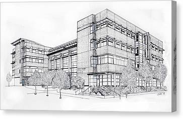Seattle University Law School Canvas Print by Inger Hutton