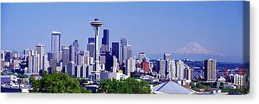 Seattle, Washington State, Usa Canvas Print by Panoramic Images