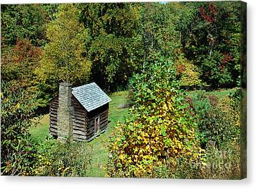 Seclusion Canvas Print by Skip Willits
