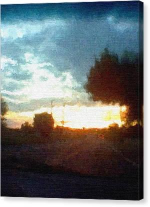 Second Sunset Canvas Print by Pharris Art