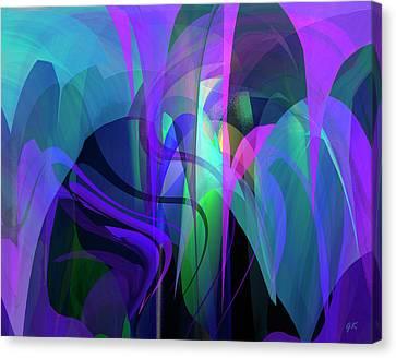 Secrecy Canvas Print by Gerlinde Keating - Galleria GK Keating Associates Inc