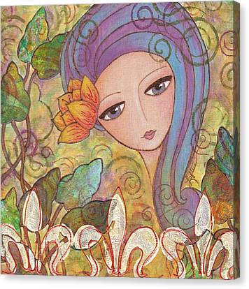Secret Garden Canvas Print by Joann Loftus