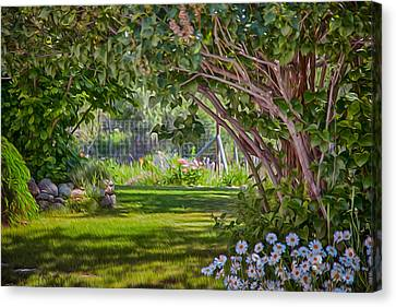 Secret Garden Canvas Print by Omaste Witkowski