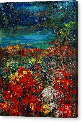 Secret Garden Canvas Print by Teresa Wegrzyn