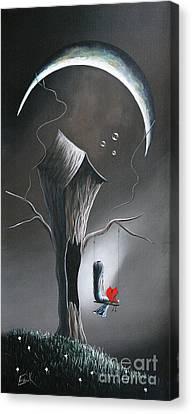 Secret Gifts By Shawna Erback Canvas Print by Shawna Erback