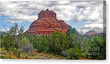 Sedona Arizona Bell Rock Canvas Print by Gregory Dyer
