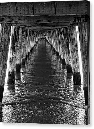 See Forever From Here Canvas Print by Heather Applegate