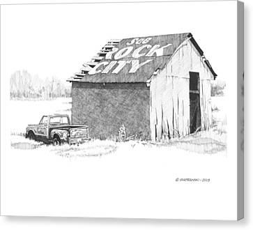 See Rock City Canvas Print by Paul Shafranski