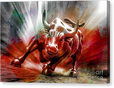 Seeing Red Canvas Print by Az Jackson