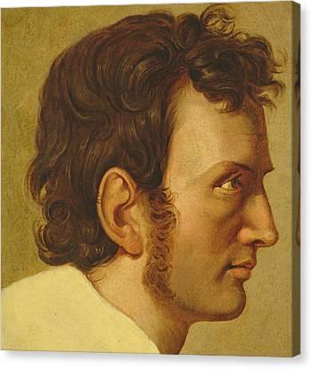 Self Portrait Canvas Print by Philipp Otto Runge