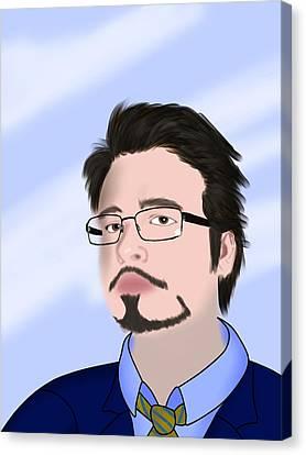 Self Portrait Canvas Print by Tony Stark