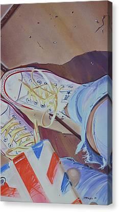 Selfie Canvas Print by Marco Ippaso