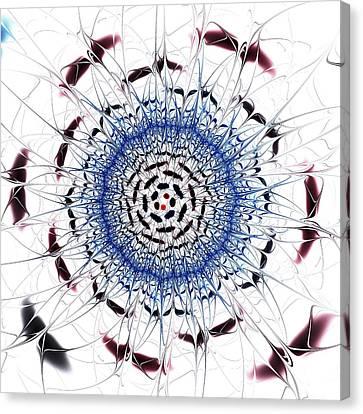 Sensory Overload Canvas Print by Anastasiya Malakhova