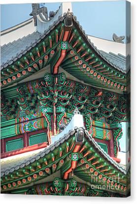 Seoul Palace Canvas Print by Michael Garyet