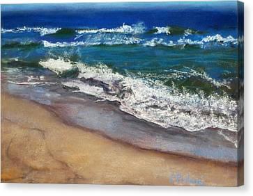 September On Nantucket Canvas Print by Cindy Plutnicki